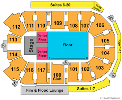 Abbotsford Entertainment Sports Center Seating Chart