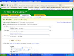 Introduction To Web Of Knowledge What Is A Citation Index Why Use A