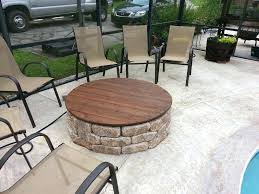 fire pit table cover kettler fire pit table cover