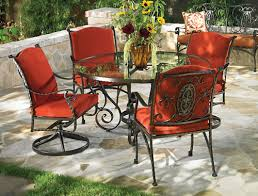 Amazing Black Wrought Iron Patio Table Designs – 5 piece wrought