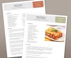 recipe book template recipe books recipe book templates recipes and recipe binders