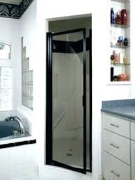 black framed shower doors single shower door shower door frame single shower door with black frame