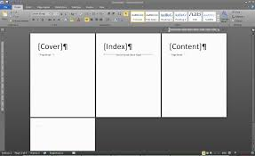 customize pagination in word project customize pagination in word 2007