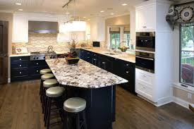 Two Tone Kitchen Cabinets Elegant Two Color Kitchen Cabinets