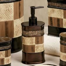 Brown Bathroom Accessories Zambia Bath Accessories