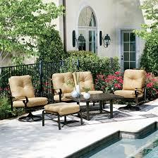 Woodard Belden Cushion Patio Lounge Set