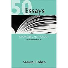 kathy saunders teaching portfolio ap english language and 50 essays a portable anthology