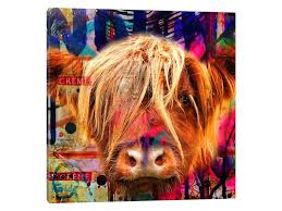 cow canvas wall art sets diy on canvas wall art sets diy with cow canvas wall art sets diy dialysave