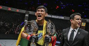 VIDEO: Aung La N Sang becomes ONE Championship two-division beltholder -  MMA Fighting