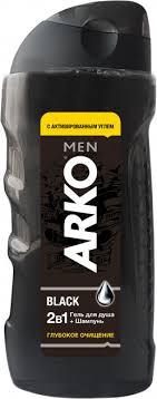 ROZETKA | <b>Гель</b> для душа и шампунь <b>Arko Men 2</b> in 1 Black 260 ...