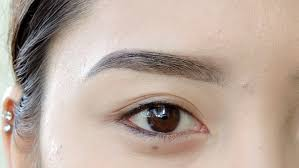 how to fill in your eyebrows with eyeshadow