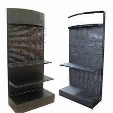 Metal Display Racks And Stands Lubricating Oil DisplayFloor Shelves and Lube Rack Stand Made 6