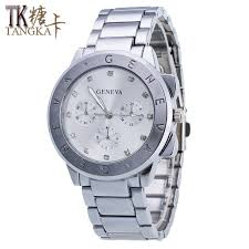 From Alloy Geneva Aliexpress Group Watch Alphabet Aluminum Watches Ladies Dial Quartz Display Diamond Lover's Striped Alibaba Hour On com S-in Stainless Luxury Hand Steel Graphic