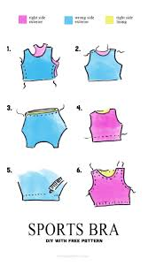Bra Patterns Free Custom Sports Bra Pattern The Sewing Rabbit