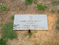Earl Avis Boyd (1926-1988) - Find A Grave Memorial
