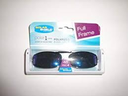 Solar Shield Size Chart Solar Shield Full Frame Size 48 Rec 4 Bluish Lens Polarized Clip On Sunglasses