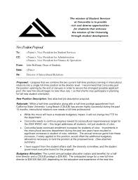 Job Position Proposal Template New Sample Work Word Share Teacher