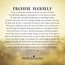 Promise Yourself To Be So Strong Quote Best of The Optimist's Creed By McGill Media