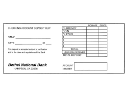 deposit slip examples resume example 51 blank check templates free printable checks