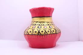 News Paper Flower Vase Diy Handmade Newspaper Flower Vase Best Cardboard Box