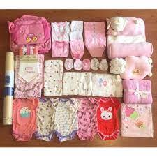 Set đầy đủ đồ sơ sinh cho bé yêu cực đẹp và dễ thương.
