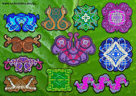 Celtic Knot Embroidery Designs Celtic Knots Patches Transparent Background Embroidery Designs Pack
