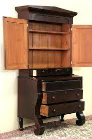 secretary desk with bookcase antique secretary desk with bookcase secretary desk with bookcase empire antique mahogany