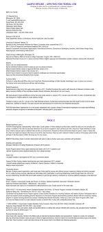 Federal Resume Format Federal Resume Format Resume Samples 17