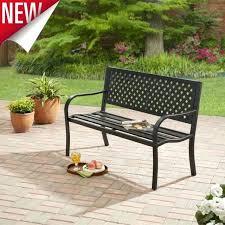 metal garden table chairs outdoor steel bench patio metal furniture garden deck park backyard porch seat metal garden table chairs