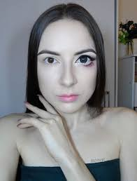 how to make your eye appear bigger big anime doll eye makeup step by