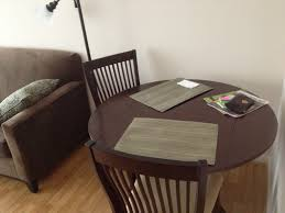 Kitchen Tables For Apartments Take A Turn About The Room Fitness And Frozen Grapes
