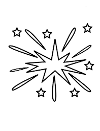 Small Picture Kids Drawing of Fireworks Coloring Page Download Print Online