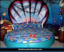 Little Mermaid Bedroom Decor The Best Sea Theme Bedrooms Ideas On ..