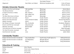Full Size Of Resume Template Beginners Beautiful Actor Resume