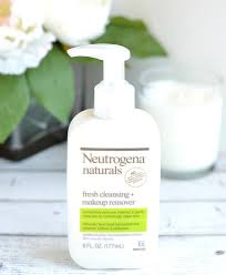 neutrogena naturals fresh cleansing makeup remover