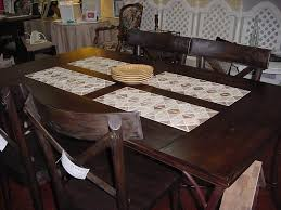 wood and natural stone tile topped dining table just fine tables