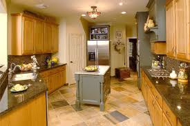 kitchen remodel using some existing oak cabinetry traditional