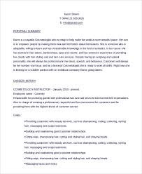 Cosmetology Sample Resume Best Essay Writing Software Journal Article Review Test1
