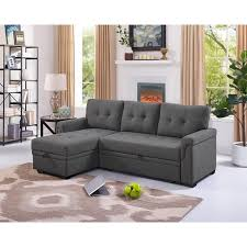 king sleeper sofa sectional for small