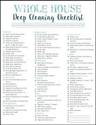 Professional Schedule Template Professional House Cleaning Supplies List Checklist Kitchen