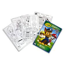 Small Picture Crayola Giant Coloring Pages Nickelodeon Paw Patrol Walmartcom