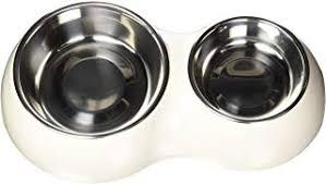 Cat Bowls - Double / Bowls / Feeding & Watering ... - Amazon.co.uk