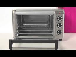 black decker 6 slice counter top toaster oven