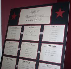 Gracie Theater Seating Chart 1940s Seating Chart Wedding Accessories Hollywood