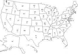 Small Picture United States Map Coloring Page Free Download