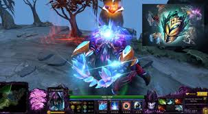 dota 2 nyx assassin immortal latticean shards with dagon infused