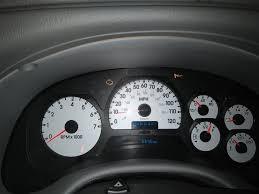 Chevy Trailblazer All Dash Lights On 2005 Chevrolet Trailblazer Instrument Panel Malfunctioning