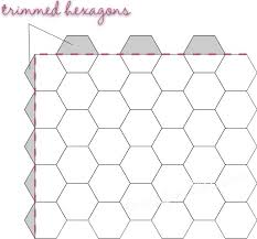 Texas Freckles: Hexagons Thoughts :: Week One :: Trimming Hexagons ... & Texas Freckles: Hexagons Thoughts :: Week One :: Trimming Hexagons · Hexagon  Quilt PatternThe ... Adamdwight.com
