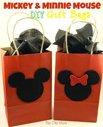 mickey mouse gift bags mickey mouse favor bags minnie mouse gift bags minnie