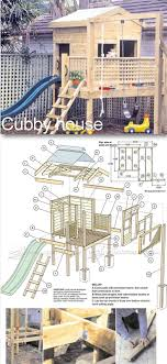 31 free diy playhouse plans to build for your kids secret backyard playhouse plans children s outdoor plans and projects woodarchivist com